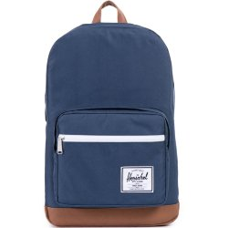 РЮКЗАК Herschel Pop Quiz A/S Navy/Tan Synthetic Leather