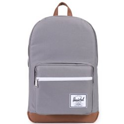 РЮКЗАК Herschel Pop Quiz A/S GREY/TAN SYNTHETIC LEATHER