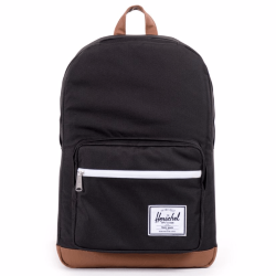 РЮКЗАК Herschel POP QUIZ MID-VOLUME SS17 Black/Tan Synthetic Leather