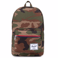РЮКЗАК Herschel POP QUIZ MID-VOLUME SS17 WOODLAND CAMO/MULTI ZIP
