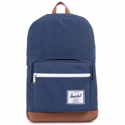 РЮКЗАК Herschel POP QUIZ MID-VOLUME SS17 Navy/Tan Synthetic Leather